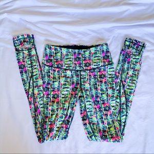 Victoria's Secret S Colorful Print Leggings